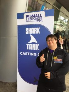 Blake at Shark Tank