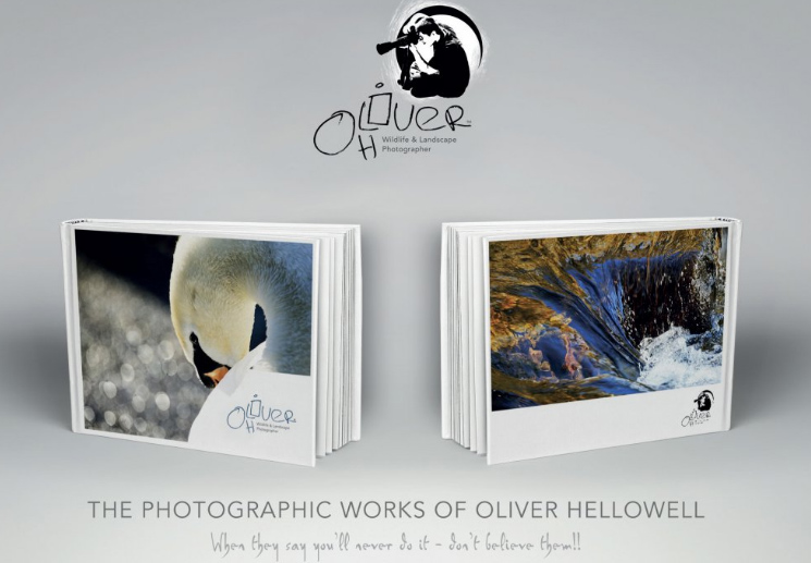 Oliver Hellowell's book of photographs