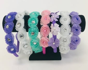 Floral headband by Maxine
